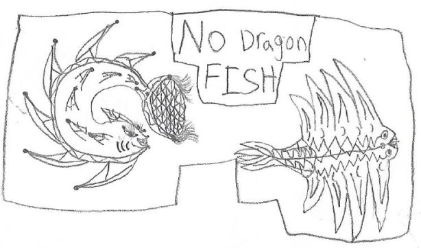 h - no dragon fish